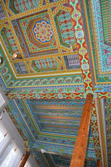 pained ceiling