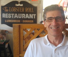 David at the Lobster Roll