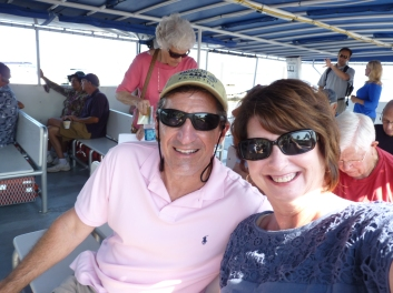 on Capt. Dave's cruise