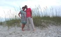 sea oats on the beach
