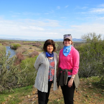 Linda and Rachel