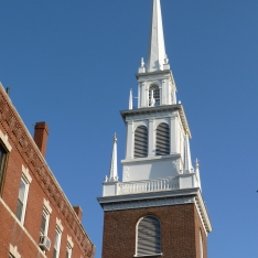 Old North Church steeple