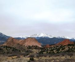 Pike's Peak in background