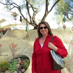 Susan at the entrance