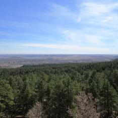 view of the vista below