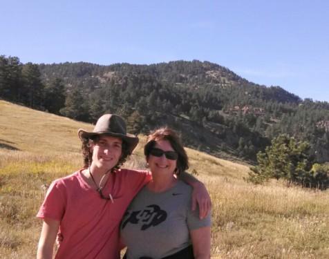 my son Drew & myself