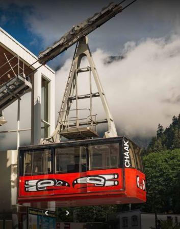 the tram car