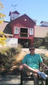 at Frog's Leap Winery