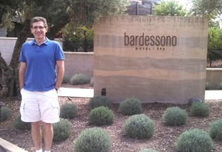 Bardessono entrance