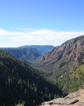 on the road from Sedona