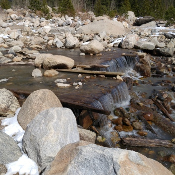 Alluvial fan run-off