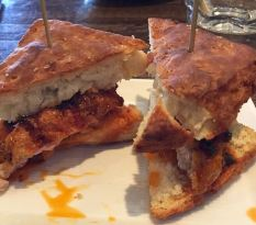 Spicy Chicken Biscuit