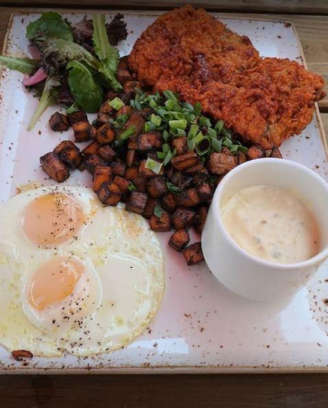 Chicken Fried Steak Breakfast